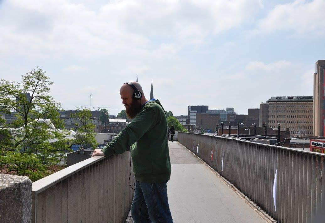 Listening to COV C60 on the Canal Basin bridge